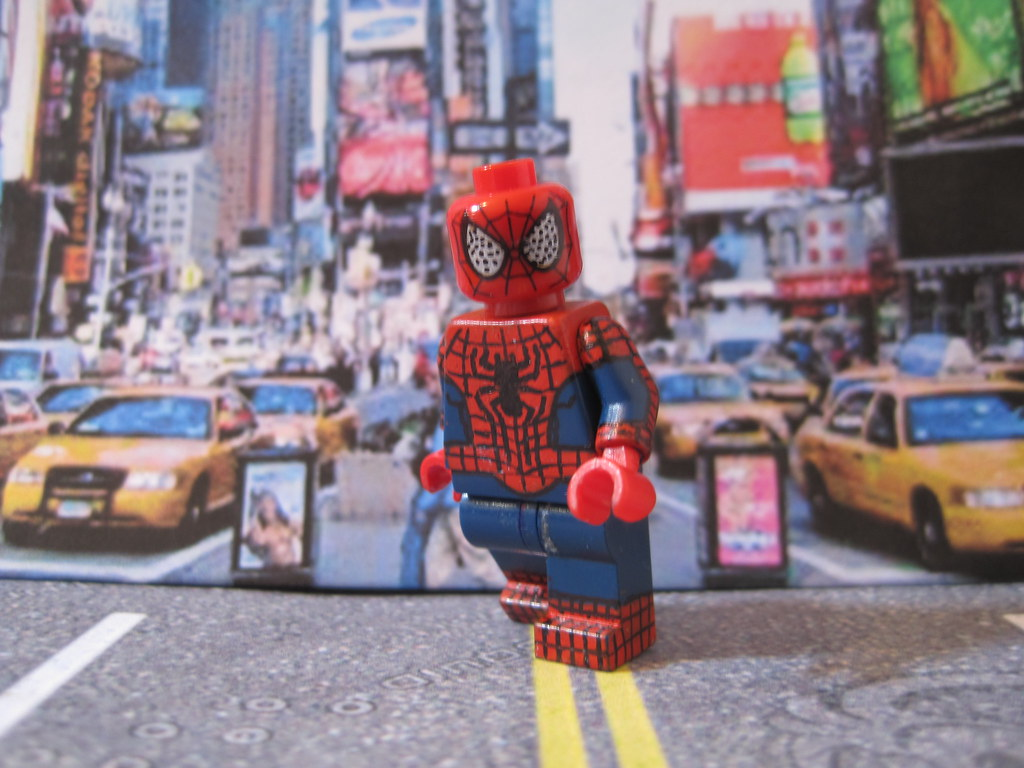 Lego The Amazing Spider Man 2 I M Still Working On The Rhi Flickr