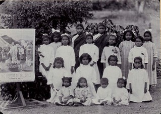 Girls Orphanage in India circa 1900