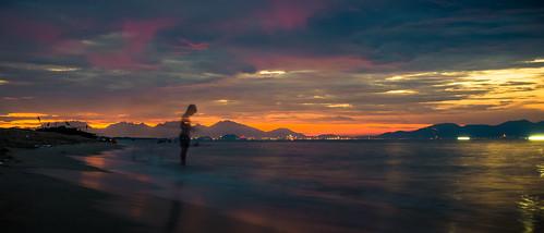 sunset beach geotagged an vietnam bang quangnam tphộian