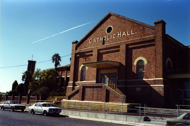 Catholic Hall, Cessnock, NSW, June 1986