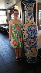 Vogue 2429 birthday dress