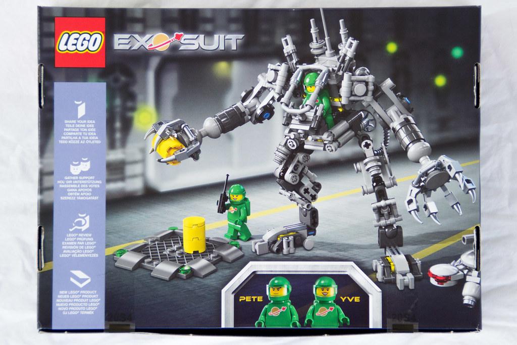 LEGO Ideas 21109 Exo Suit #007 Roboter Mech
