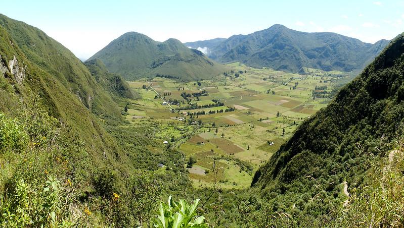 Reserva Geobotánica Pululahua panorama