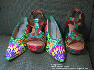 Hand Painted Shoes by Shannon Kringen | by shannonkringen