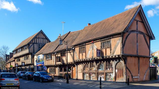 Medieval Spon Street Coventry.