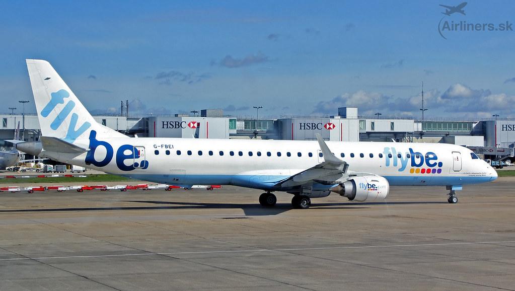 G-FBEI Flybe Embraer ERJ-195LR