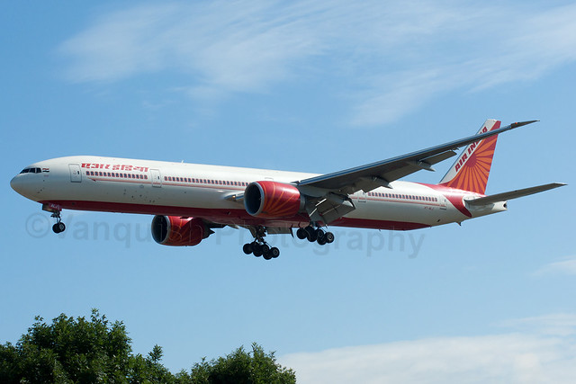VT-ALJ Air India B777-300 London Heathrow Airport Archive