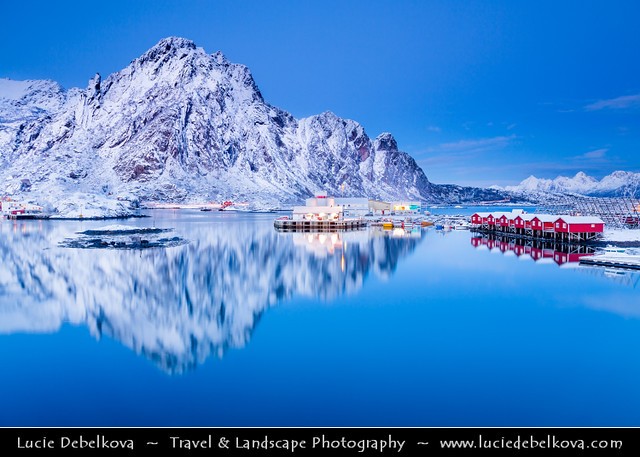 Norway - North of the Arctic Circle - Lofoten Islands - Austvagoya - Svolvaer