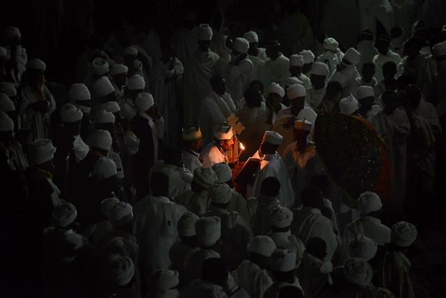 Easter celebrations - Lalibela - Ethiopia