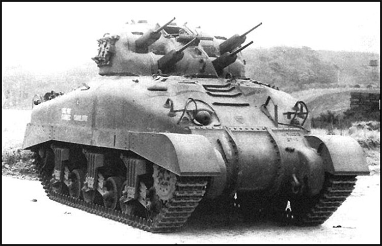 Skink - Canadian Self-propelled anti-aircraft weapon based on chassis of Grizzly tank