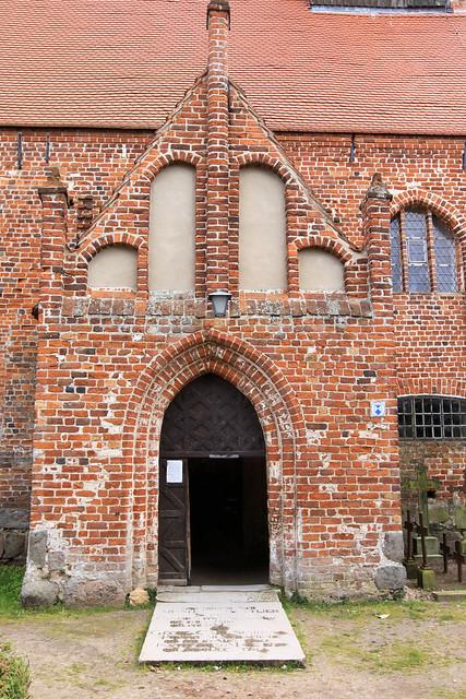 Kirche St. Johannes - Portal - Schaprode Insel Rügen