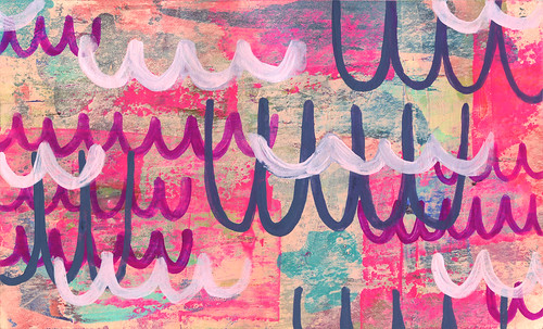 Day 45 ICAD | by Anika Starmer – A is for Anika