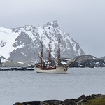 Bark Europa, Signy Island (Antarctica)