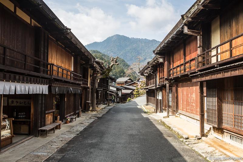 Tsumago-juku, en plenos Alpes Japoneses