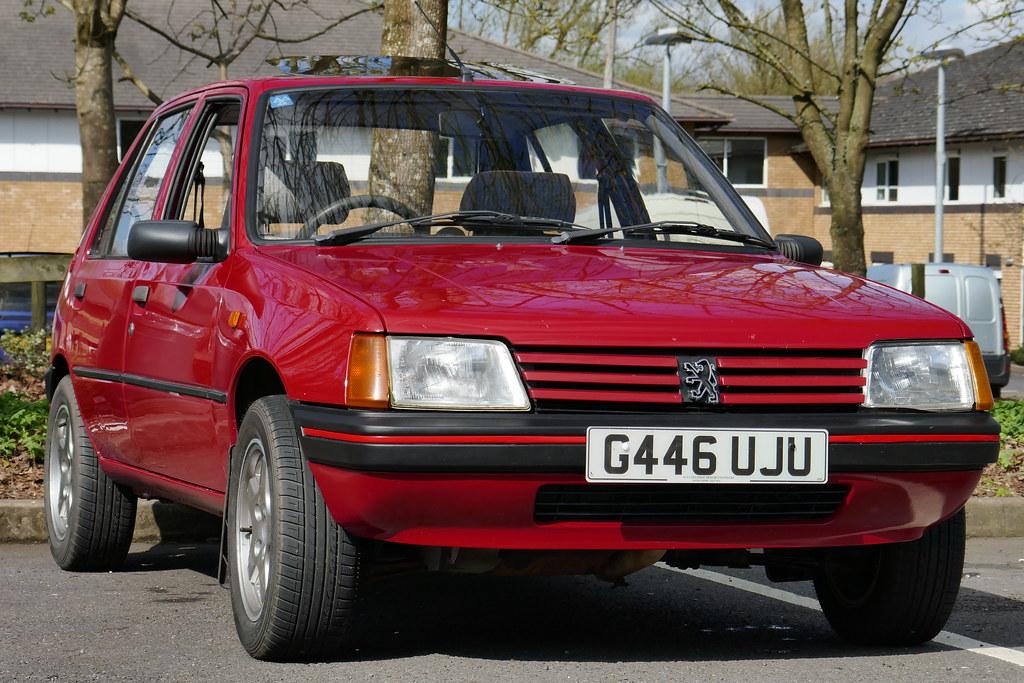 My 1989 Peugeot 205 Gr