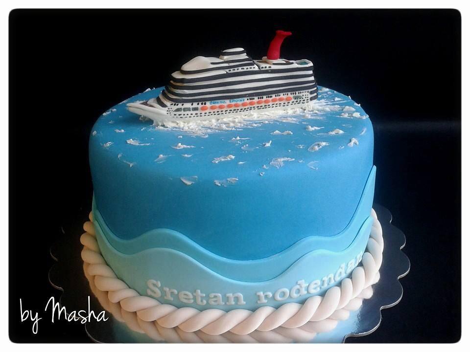 Terrific Cruise Ship Birthday Cake Sweet Cakes By Masha Flickr Funny Birthday Cards Online Inifofree Goldxyz