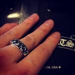 クロム♡ #ChromeHearts #Ring #fashion #japan