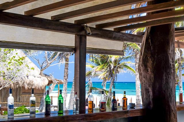 Bar mexicain, Riviera maya, Tulum