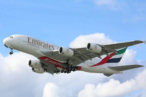 A380 Emirates A6-EEV   by XFW-Spotter
