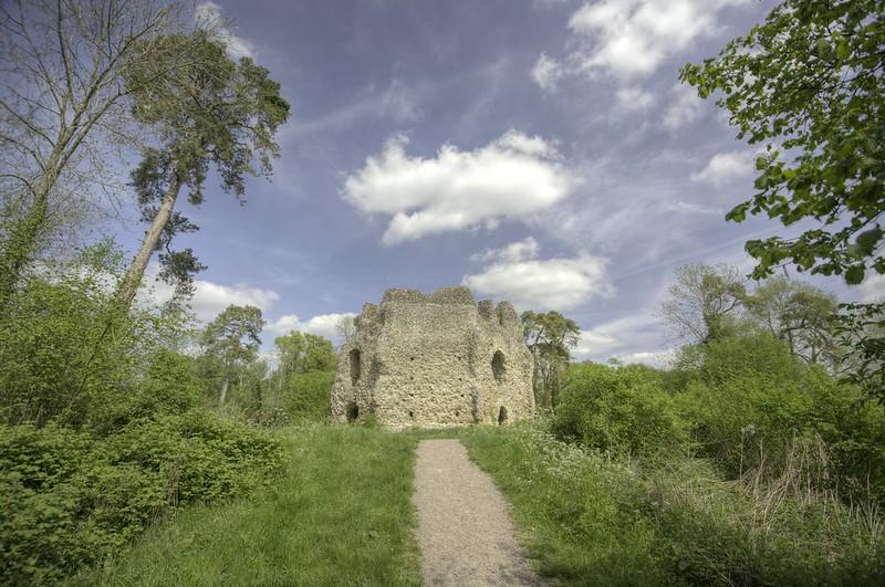 entrada Castillo de Odiham