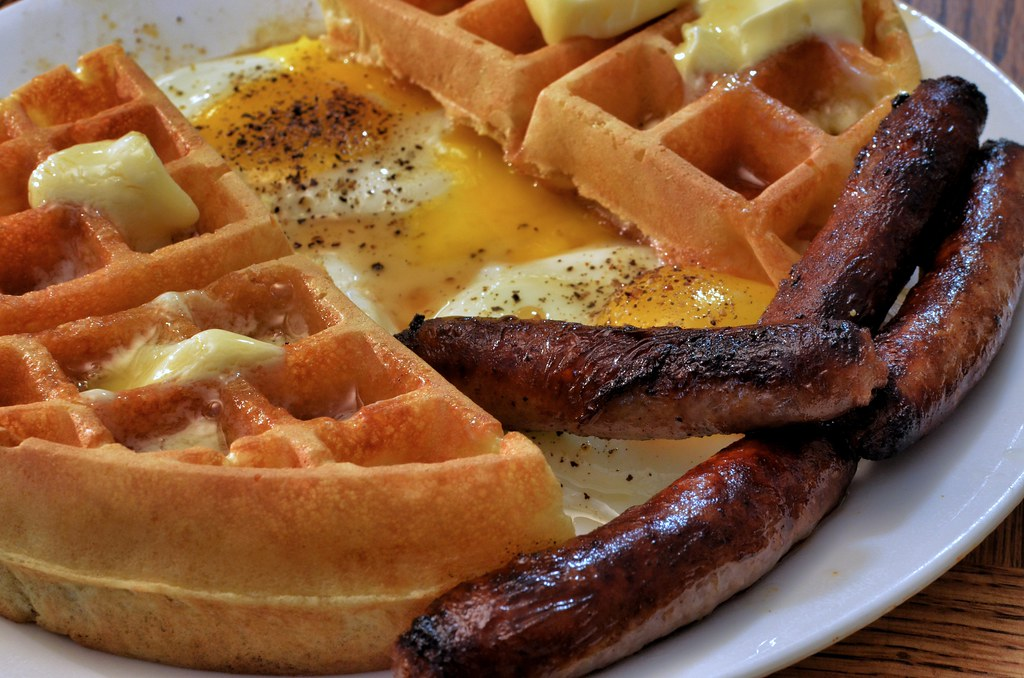 Mmm... waffles