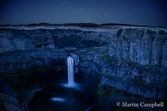 Palouse Falls (Midnight)