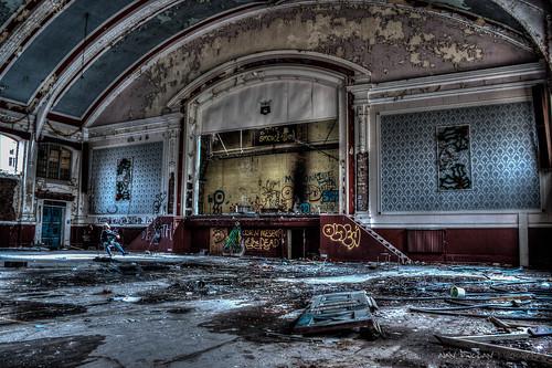 Whittingham Asylum - Ballroom   by DugieUK