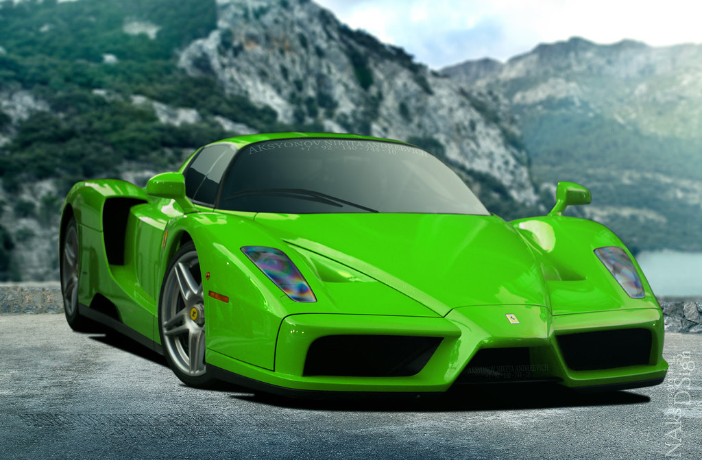 Ferrari Enzo Verde Kers Lucido Www Flickr Com Photos 67946 Flickr