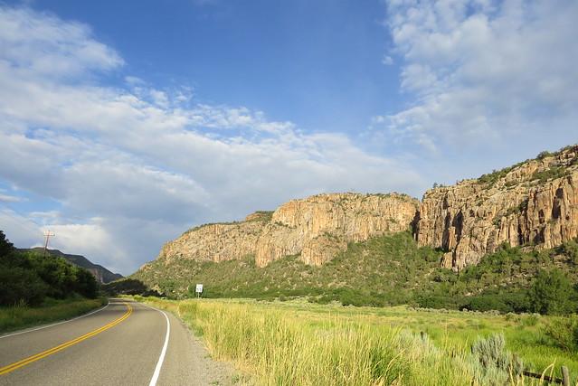 Morning in Unaweep Canyon