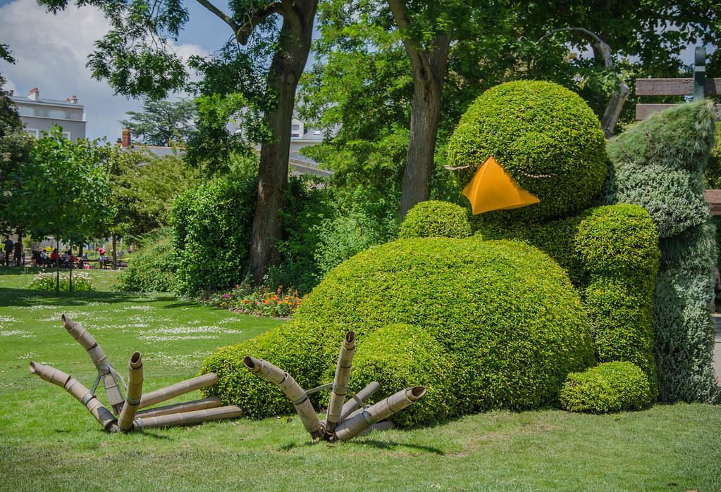 Le poussin du Jardin des Plantes, Voyage à Nantes 2014 | Flickr