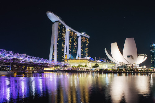 Singapore, Marina Bay | by Leonid Yaitskiy