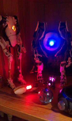 Portal 2 - Atlas & P-Body Action Figures | by chikorita83