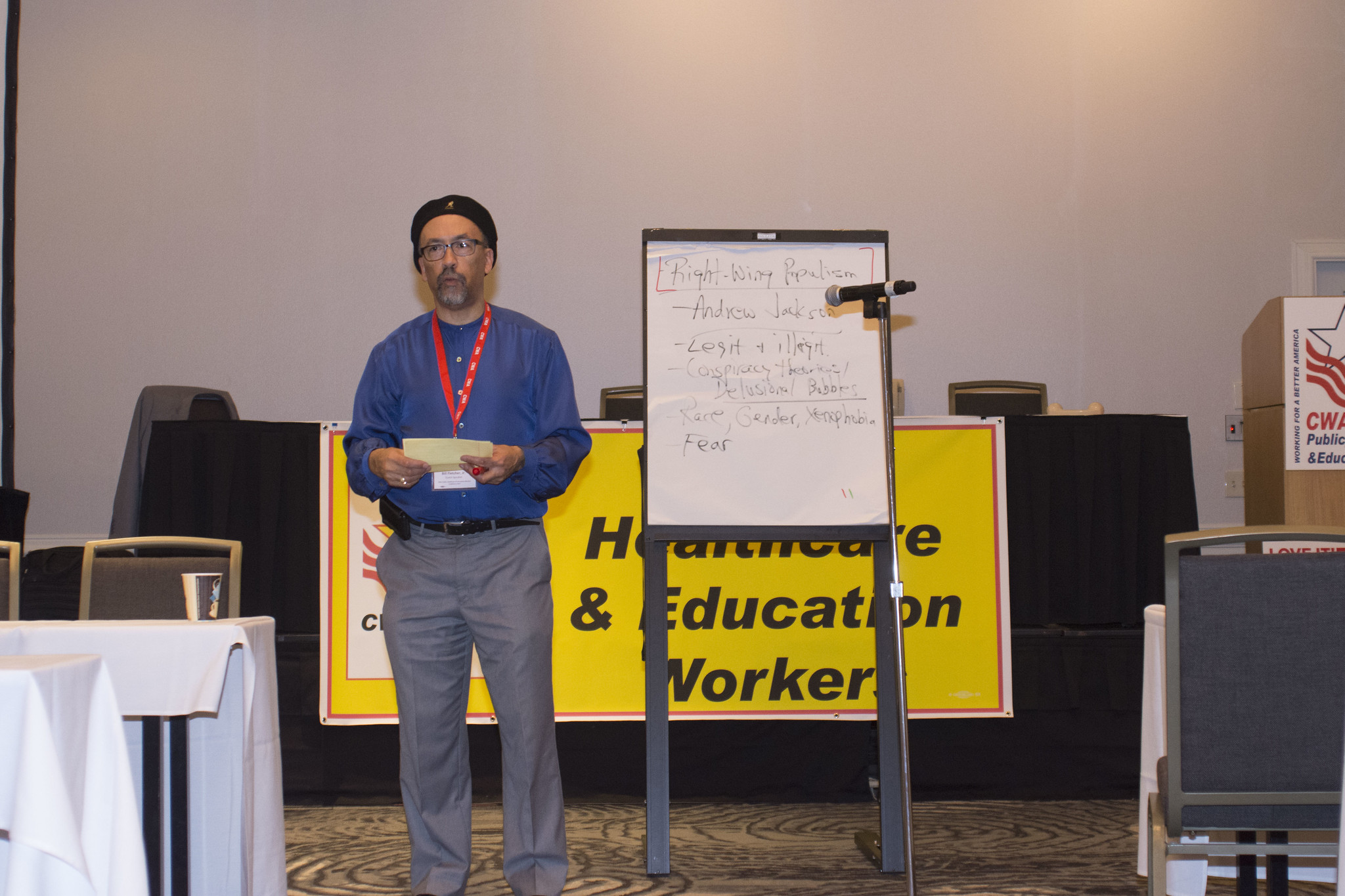 2017 Public, Healthcare, and Education Workers Conference Workshops