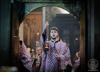 Всенощное бдение в Софийском соборе 170