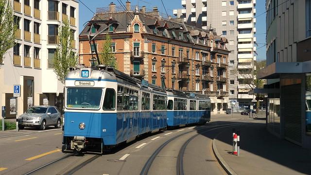 Tram Museum Zürich - Fotofahrt 9. April 2017