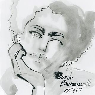 Drawing no.170407-01 @samile_b #SamileBermannelli #watercolor #illustration #illustrator #drawing #fashion #fashionillustrationsketch #fashionista #fashionillustrations #fashionillustrator #Japan #tokyoillustrator #beauty #beautyillustration #fashionske | by loopool