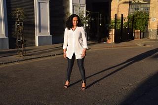 DSC_7919 Loretta Reggae Singer from Jamaica White Top Shor
