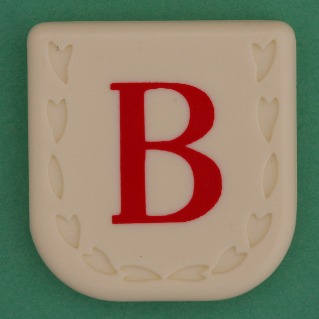 Line Word red letter B
