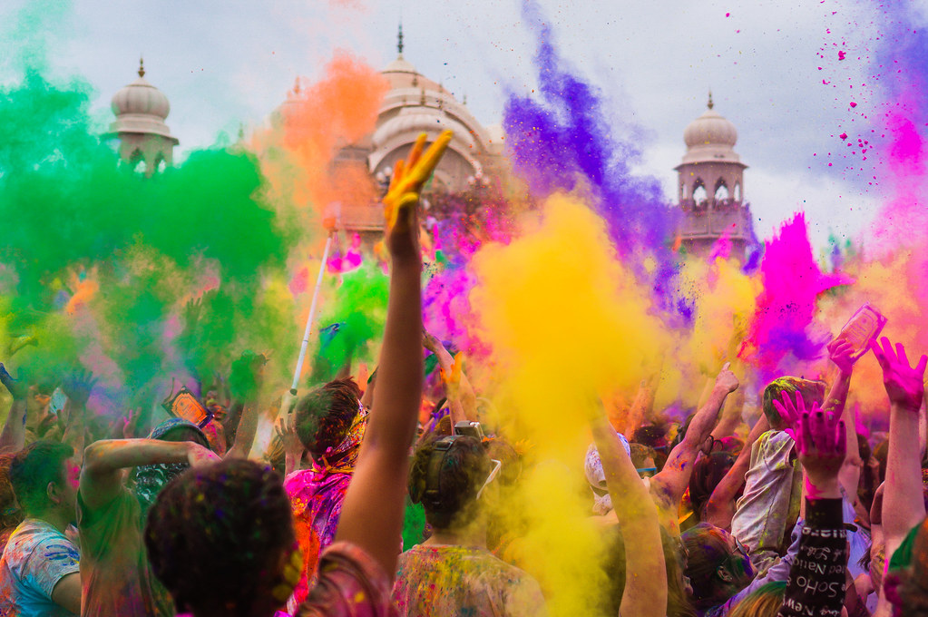 Holi festival in india   List of festivals in India