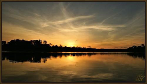 park sky reflection nature water clouds sunrise texas sony ngc bayou pasadena canoeing paddling bayareapark a700 armandbayou sonya700 wanam3