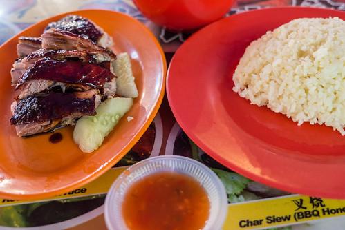 BBQ duck and rice street food Malaysia.jpg | by crystalcastaway