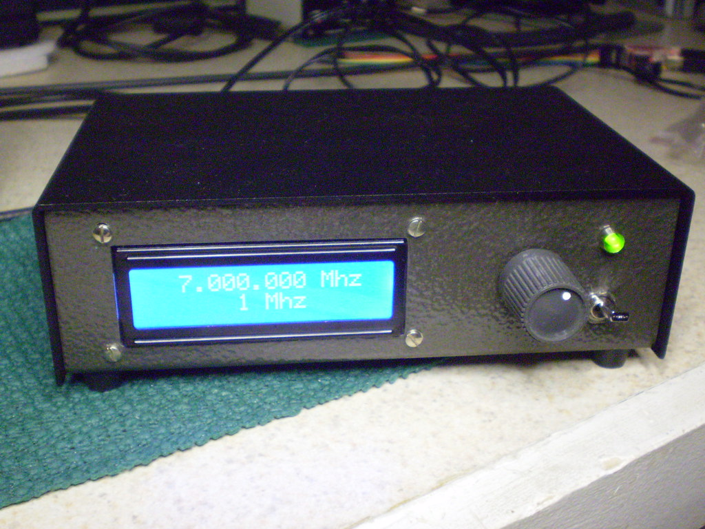 DDS VFO | AD9850, Arduino, LT1253, DDS 1 to 30 MHz VFO | Randy