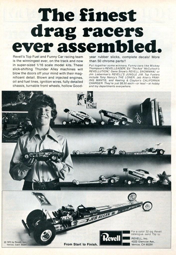 1973 Revell Models Advertisement Hot Rod December 1973 | Flickr