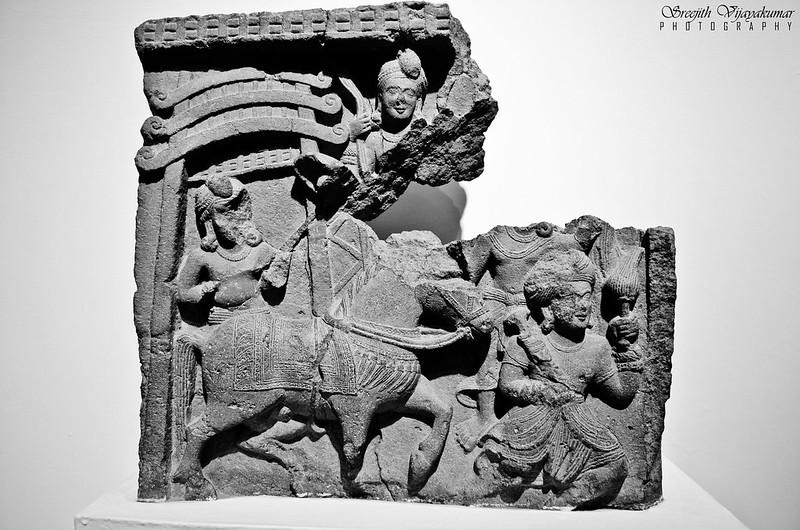 Great Renunciation of Budha, National Museum, New Delhi
