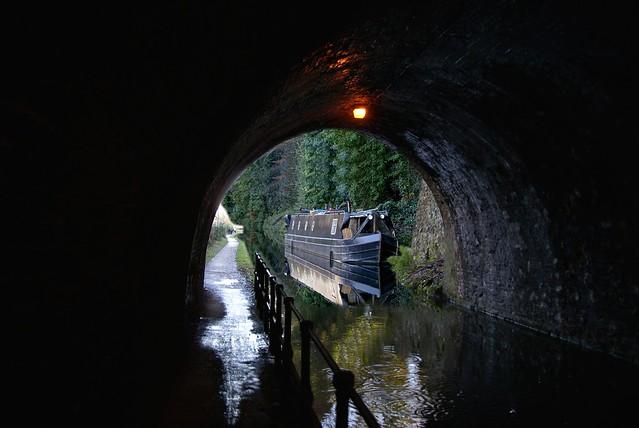 Barge through Bridge, Edgbaston, Birmingham