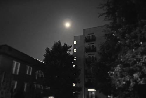 Moon over Midtown Atlanta   by Juli Kearns (Idyllopus)