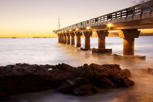 ocean africa morning sea beach water sunrise pier early rocks long exposure south cape eastern hobie portelizabeth