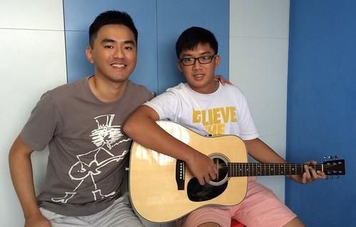 Guitar lessons Singapore Reagan