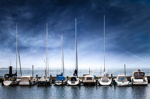Boats in Volendam | by Sofiasotob