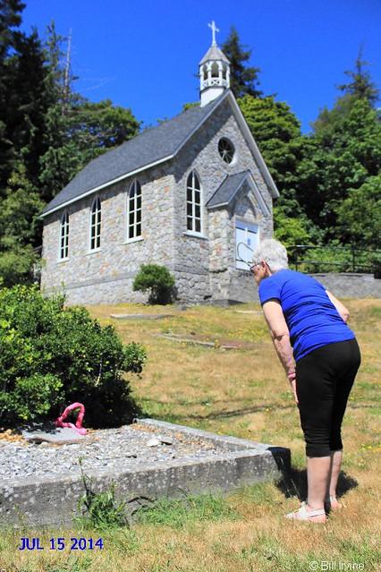 St. Paul's Kanaka Grave: Tahouney Family